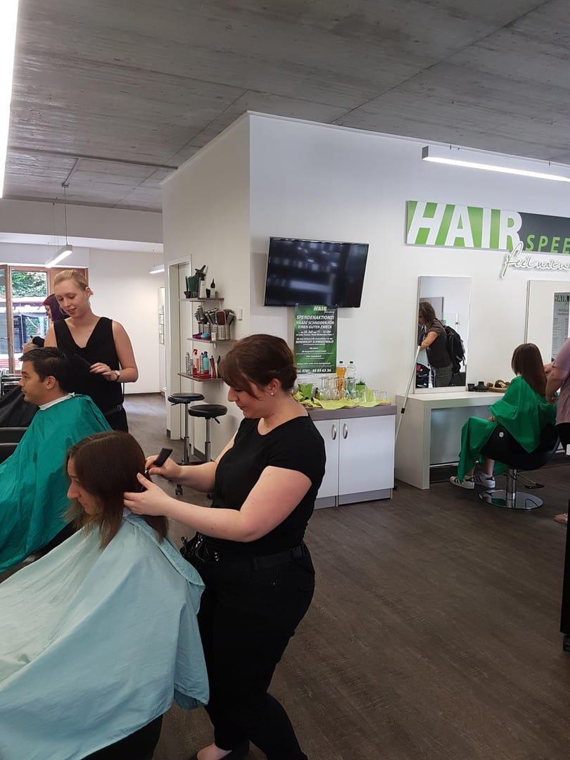 Hairspeed Spendenaktion 2017 5