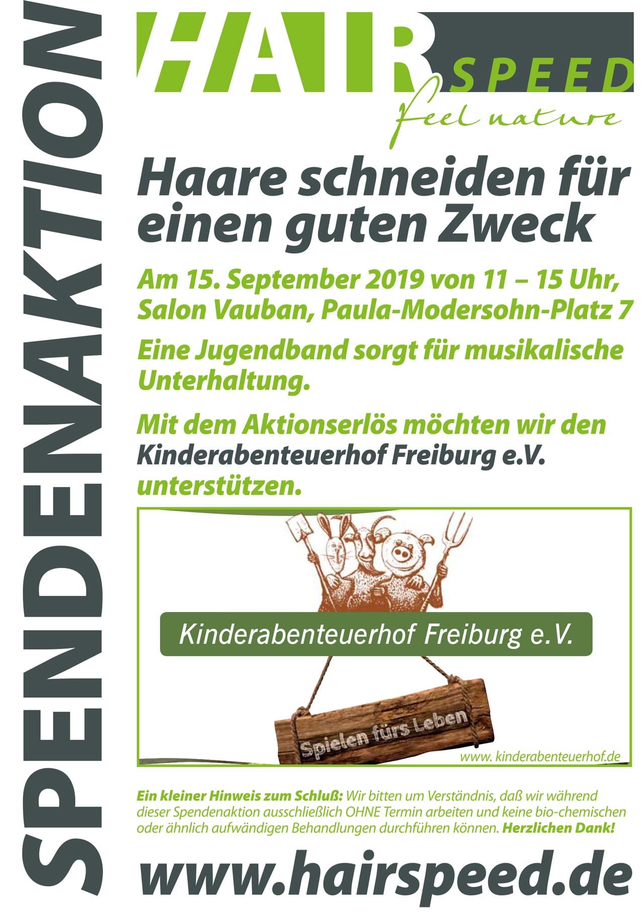 Spendenaktion 2019 Kinderabenteuerhof Flyer